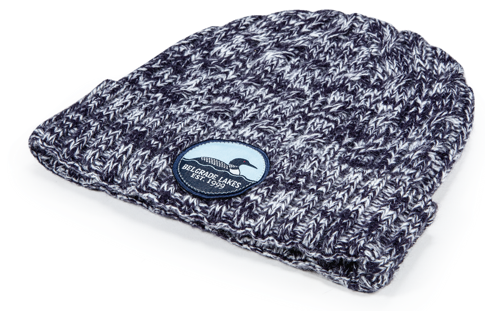 Pukka cuffed cable knit hat