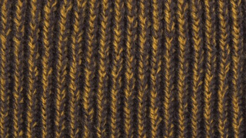 Twisted yarn option charcoal and gold
