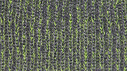 Twisted yarn option lime and metal