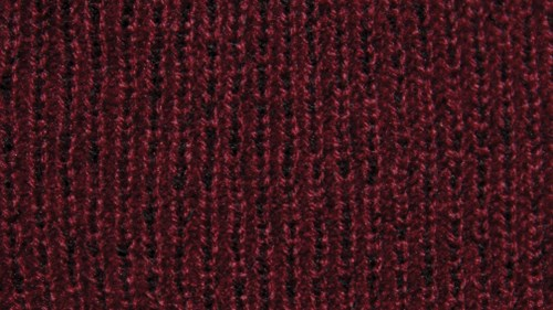 Twisted yarn option maroon, crimson and scarlet
