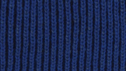 Twisted yarn option navy, royal and slate