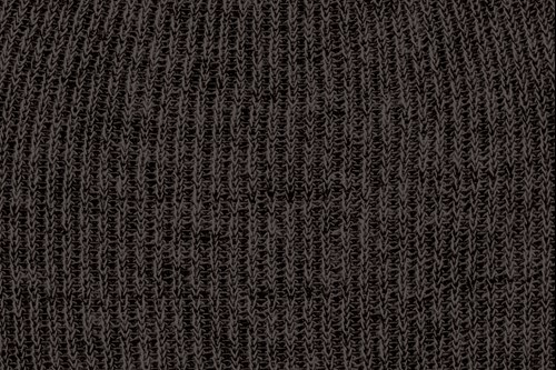 Heathered yarn option black and charcoal