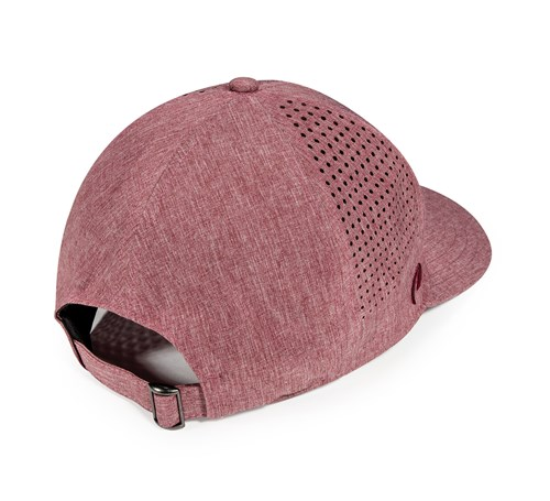Pukka hat with perforated pattern side panels
