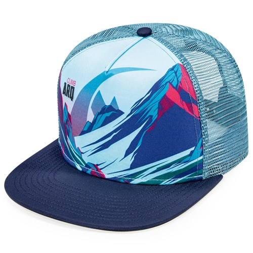 Sublimation Print on Front Panel of Adjustable Hat