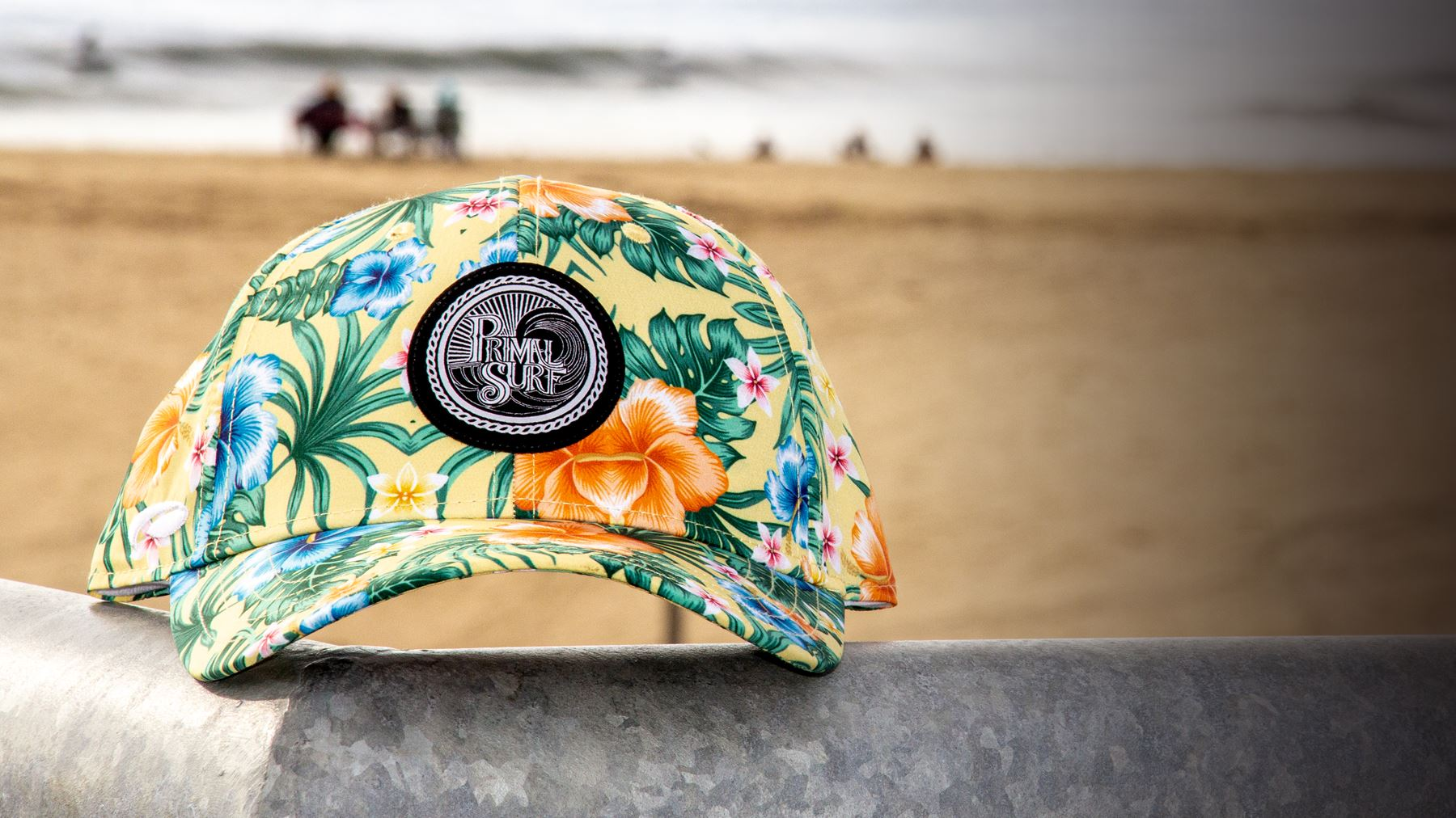Surf hat chilling beachside