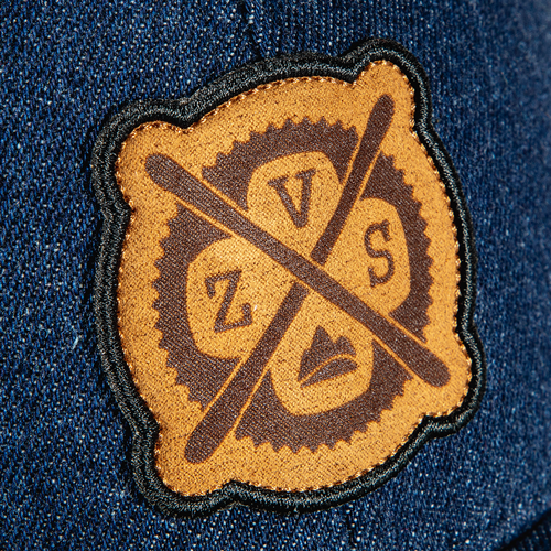 Laser Etched Suede Patch