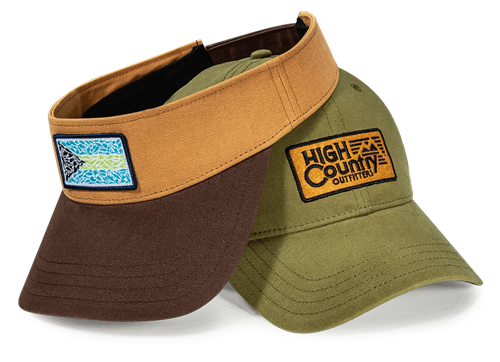 Waxed Canvas Visor and Adjustable Hat