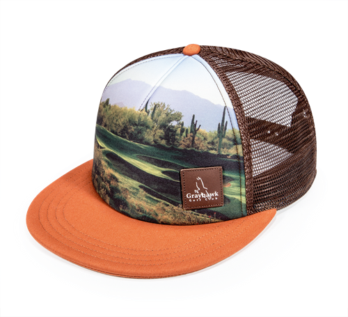 Pukka hat with sublimation print