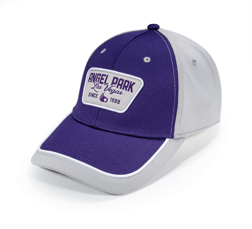 Pukka hat with visor cut and sew with piping